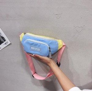 Borse a tracolla Ins modo caldo di vendita Ragazza Casuale Marsupio bambini svegli minicassettiera Bag Summer Camp estivi