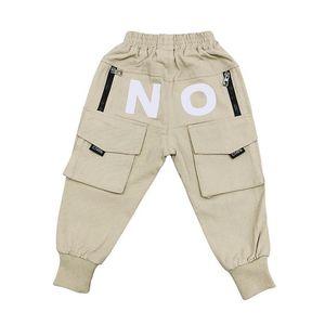 Ins 2020 casuales niños pantalones niños pantalones holgados pantalones de harén niños niños ropa de diseño ropa de los muchachos ropa de niños al por menor B911