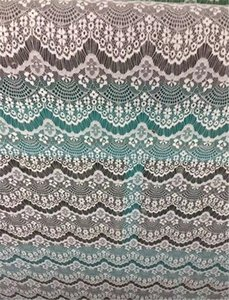 3 verges 9.5cm 9 couleurs option Fleur rubans de garniture de tissu de dentelle brodée bricolage couture matériaux faits à la main