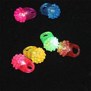 Nouveau clignotant Bubble Ring Rave Party Clignotant Doux Gelée Glow Vente Chaude! Cool Led Light Up DHL FEDEX