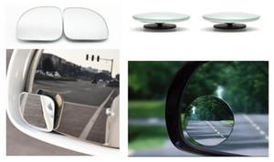 piezas de automóviles pequeña mancha redonda de vista trasera del coche del espejo del espejo ciego objetivo gran angular de