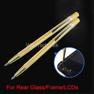 Automatischer Körner Stahl gefedert Metalldiamant-Feder für Telefon Heckscheibe LCD-Schirm-Cracking Holzschnitzerei Ritzen