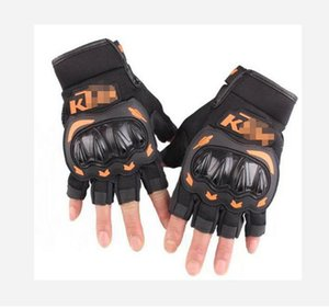 A star KTM motorcycle riding gloves summer thin section breathable knight equipment off-road racing locomotive anti-fall gloves male half fi