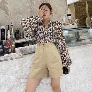 الصيف أزياء السيدات جديدة الشيفون رقيقة قميص، عارضة الازياء طباعة الأكمام الطويلة، الحماية من أشعة الشمس في الهواء الطلق الأكمام الطويلة