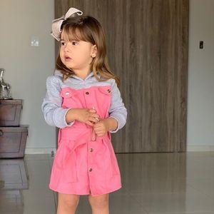Crianças Hoodies Criança Bebés Meninas Crianças manga comprida camisola geral Hoodies Patchwork Grosso Hat Outono Primavera frete grátis