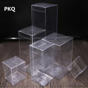 30 sizes Rectangle Plastic Box Transparent PVC Gift Boxes Clear Display Box For Toys Chocolate Jewelry Candy Packing 30pcs
