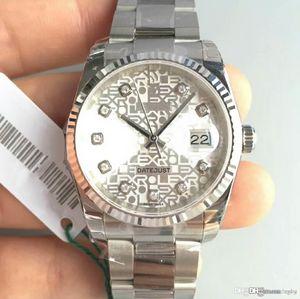 Высококачественные мужские механические часы m116234-0122 с логотипом типа 41 мм имеют 36 мм. Циферблат усыпан памятным бриллиантом