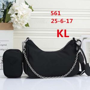 Новые Модельеры Женских сумки Кошельки Lady Handbag Переиздание 2005 нейлонового Luxury Shoulder Bag Channel Тотализаторы Интернет