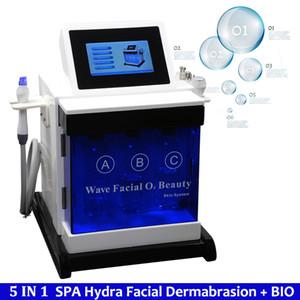 2019 Mais Novo Hydra Facial Spa Equipamentos de Beleza Casca Hydrafacial Pequena Bolha Hidro Dispositivo de Limpeza Soro Hidra Dispositivo de Rejuvenescimento Da Pele