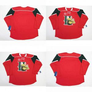 Halifax mooseheads jerseys 100% bordado cusotm qualquer nome qualquer número vermelho homens mulheres juventude venda quente gelado jerseys de hóquei