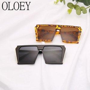 2019 Hot Sale New Big Box Óculos De Sol Dos Homens e mulheres Hip Hop Selvagem Big Óculos de Sol Personalidade Net Polarizada Polarizada óculos de sol