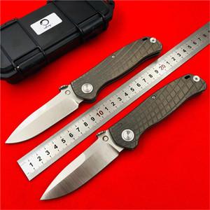 DICORIA prophète AXIS couteau de pliage tactique lame M390 Titannium poignée KVT portant la survie de camping en plein air couteaux outils EDC
