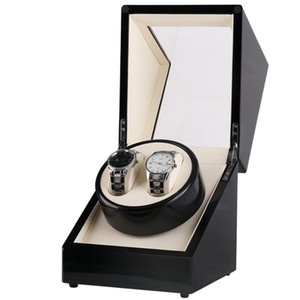 Black baking varnish single head 2 position automatic watch on the chain shaker motor box electric rotary table box