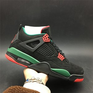 Air 4 NRG Do the Right Thing Black Pizzeria AQ3816-163 4s IV Men Basketball Sports Shoes Sneakers High Quality Trainers