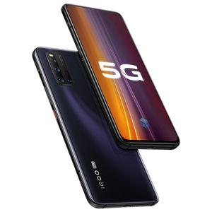 """Vivo original IQOO 3 5G mobile LTE Téléphone 8 Go RAM 128Go ROM Snapdragon 865 Octa base Android 6.44"""" 48MP ID d'empreintes digitales visage Wake téléphone cellulaire"""