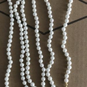 Heiße Selling Strass Anhänger Halskette Mehrfarbenfrauen Perlen-Ketten-Halsketten-Qualität Schmuck Accessoires für Geschenk-Partei