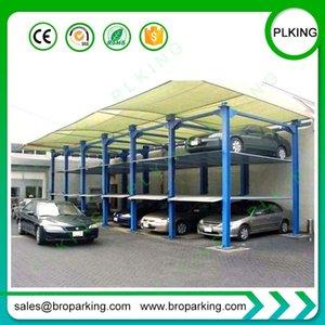 Гидравлический коммерческих автоподъемников вертикальная система парковки для больших парковках