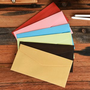 10PCs set 22*11cm Colorful Pearl Paper Envelopes for wedding Party Invitations Valentine's Day gift lovers message card gift
