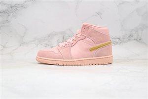 2020 venda quente alta Coral Tênis de basquete pó para homens do esporte de luxo Calçados New Sneakers a maioria dos treinadores populares 852542-600