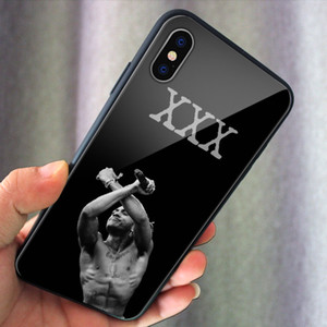 مغني الراب سنوب دوج المغني XXXTentacion MC صندوق زجاجي الهاتف لفون 11pro MAX XR 7plus 8PLUS سامسونج Note10 Note9 S10 S9 + S9