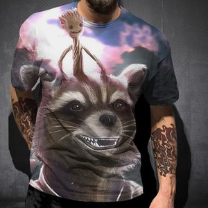Мужская мода Joker Tokyo cultural jungle 3D печатная футболка 2020 Новая футболка летняя рекламная мода хип-хоп круглый вырез с коротким рукавом фактор