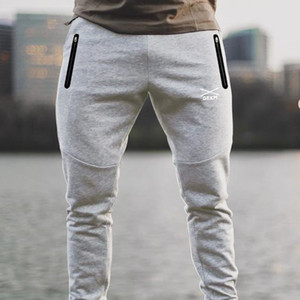 Spring Joggers Pants Men Running Skinny Cotton Sweatpants Trackpants Gym Fitness Training Sport Trousers Male Sportswear Bottoms