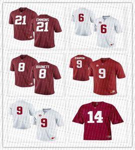 Alabama Crimson Tide di calcio maglie Courtney Upshaw Derrick Henry Dont'a Hightower Dre Kirkpatrick Eddie George customiz qualsiasi numero nome