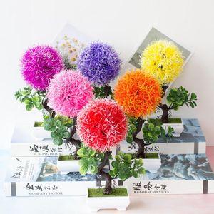 artificial bonsai trees Flowers and plants House decoration Direct artificial plants Home decoration Flower porridge fake plant