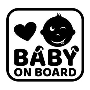 15 * 14.2cm Baby On Board автомобилей Виниловые наклейки Смешные окна автомобиля бампер новизны JDM Drift винила стикера