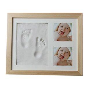 Gifts Baby Footprint Non-toxic Souvenirs Handprint Kit Infant Imprint Casting