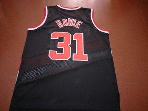 mulheres costume Homens Jovens Vintage Sam Bowie # 31 College Basketball Jersey tamanho S-4XL ou personalizado qualquer nome ou número de camisa