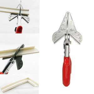 PVC Trunking Chanfrein Cutter Multiangle garniture en acier Revêtement Mitre Fillet cisaillement Cisaille Parage Outils de coupe 45 à 120 degrés