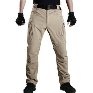 الرجال خفيفة الوزن التكتيكية تمتد الشبكة سروال التدريب الرياضة في الهواء الطلق المشي لمسافات طويلة القطن تنفس العسكرية SWAT بنطلون الجيب