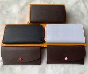 Designer-Handtaschen-Designer Portemonnaie Luxus Kupplung Frauenmappen Mappe Mens Entwerfergeldbeutel Kartenhalter aus echtem Leder mit Kasten M60017