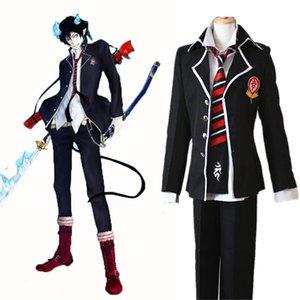 Anime Ao hiçbir Exorcist Mavi Exorcist Okumura Rin Okumura Yukio Cosplay Kostüm JP Okul Üniforma Kostüm