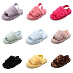 2020 zapatos de las mujeres del verano deslizadores de la hebilla Diseño Negro Plataforma Blanca deslizadores cómodos Mujeres suela gruesa de playa Calzado T200529 # 164