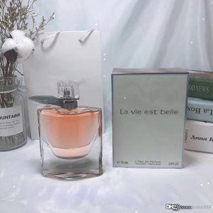 Perfume vendedora caliente para las mujeres 75ml EDP 2.5Floz Eau de Parfum Beautiful Life Natural Aerosol Delivery Vaporisateur gratuito