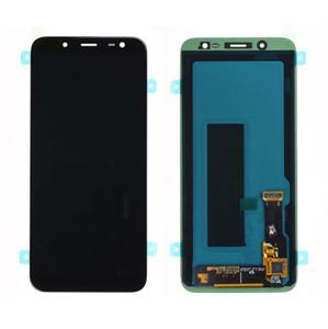 AMOLED Para Samsung Galaxy J6 2018 J600 J600F Display LCD + Toque digitador da tela com o logotipo grátis DHL