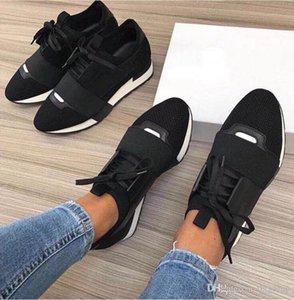 Fashion design di lusso della scarpa da tennis Uomo Donna Casual Shoes Vera Pelle Mesh punte punta corridore corsa scarpe all'aperto formatori con la scatola US5-12
