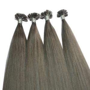 200 filamentos Professional Salon usando las extensiones de cabello Keratin fusion prebond I TIP U TIP V TIP precio más bajo, dhl gratis