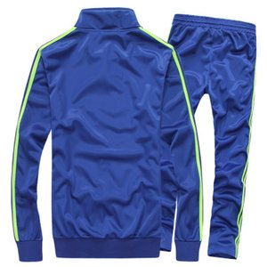 Herren-Trainingsanzüge Frühling Sportswear Herren Solid Color Trainingsanzüge Hot Sale Marke Weiß Sportwear Set Zipper Anzug 5xl