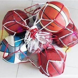 Hot 1pcs Outdoor Sporting Soccer Net Balls Carry Net Bag Sports Portable Equipment Football Balls Volleyball Ball Net Bag