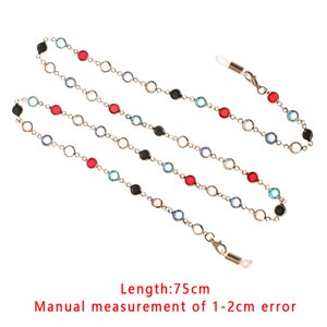 1Pcs 70 75cm Sunglasses Lanyard Strap Necklace Eyeglass Multicolor Long Glass Chain Cord For Reading Eyewear Accessories Gifts