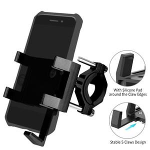 La nuova bici del supporto del telefono Anti biciclette diapositive maniglia Phone Mount alluminio con la terapia Stick Bike il basamento per la strada di MTB Motobike