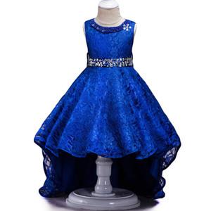 Keaiyouhuo Kinder Brautjungfer Hochzeit Blumenmädchen Kleid Für Partykleider Kinder Spitze Prinzessin Kleid Kinder Kleidung 8 10 12 Jahr J190618
