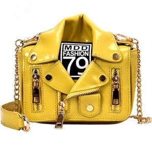 donne borsa a tracolla dal design di lusso Individualità creatività piccolo gruppo nuovo trend a tutto tondo borsa a tracolla di modo della catena borsa messenger