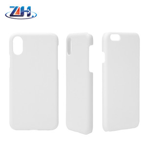 3D Sublimation phone case for iPhone XS Max XS 8 7 6 plus blank for DIY sublimation printing 50pcs lot DHL free shipping
