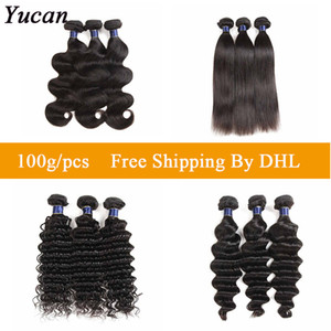 Cheap Malaysian Virgin Hair Weaves Straight Body Wave 100% Brazilian Human Hair Extensions Deep Water Wave Drop Shipping IN Bulk Wholesale
