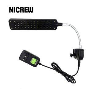 Nicrew LED 어항 수족관 빛 DC12V 3W (48 개) LED 수족관 조명 램프 산호초 수생 동물 물고기 탱크 장식