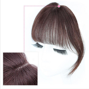 3D Bangs Human Hair Air Bangs For Women Brazilian Hair Pieces Invisible Seamless Non-remy Replacement